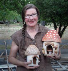 Lucinda with Mushroom houses