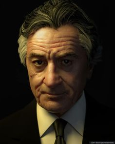 DeNiro - 3d Character done for CGFeedback's Sculpt challenge by Qisheng Luo using Maya, Zbrush, Photohsop, Vray. Updated article: http://goo.gl/71RyXN  #Maya #Zbrush #Photohsop #Vray