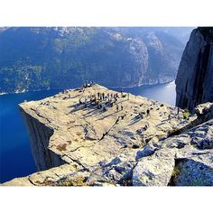 preikestolen-norway Lysefjord is the most thrilling place in Norway