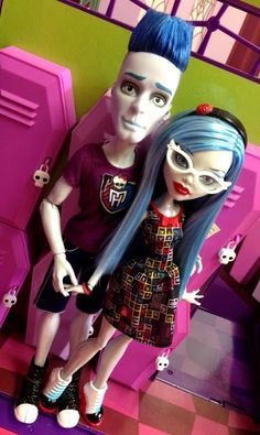 Slow Moe & Ghoulia SDCC