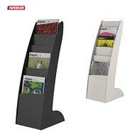 Prospektständer Paperflow, 6 Fächer für DIN A4 Werbematerial. Jetzt in unserem Hood-Shop zu finden.  https://www.hood.de/i/prospektstaender-prospekt-staender-courbo-slim-6-faecher-27-x35-x-86cm-65840158.htm