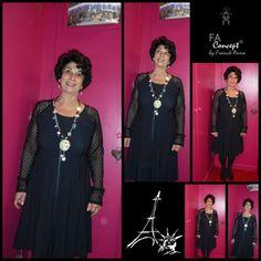 ECLIPSE c'est le nom de cette robe créée par FRANCK ANNA dispo chez PNY à SAINT-LO