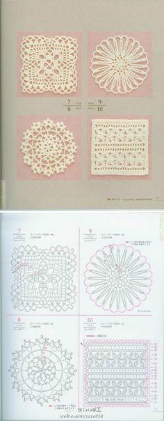 piccolini motivi crochet