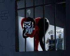 When just got too much junk in the truck XD I feel you harls but your killing it Harley Quinn Drawing, Joker And Harley Quinn, Power Girl Comics, Gotham, Super Heroine, Pedobear, Accel World, Batman, Sexy Cartoons