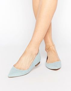 ASOS LOST Pointed Ballet Flats