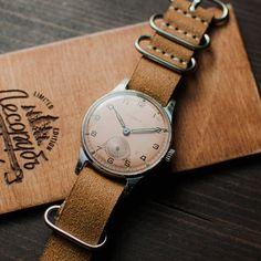Rare vintage mens wrist watch Pobeda 2 MChZ, USSR watch, mens watch, mechanical watch, retro watch, collectible watch