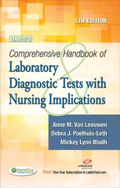 14 best nursing books images on pinterest nursing books being davis comprehensive handbook of laboratory google search fandeluxe Choice Image
