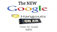 "The True Adventures of a High School Librarian: The NEW Google Hangouts On Air ""How To"" Guide"