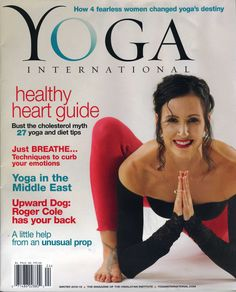 #kddance on the cover of Yoga International