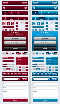 Awesome Mobile App UI Kit