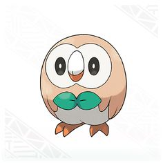 Rowlet is a Grass/Flying-type and one of the three starters you can choose from in Pokemon Sun and Pokemon Moon.