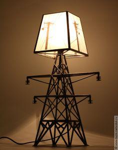 лампа ЛЭП, купить в интернет магазине в Москве, оригинальные и необычные подарки