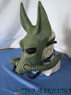 Jackal Gas Mask? Steampunk Anubis!