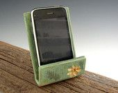Cell Phone Stand by DirtKicker Pottery