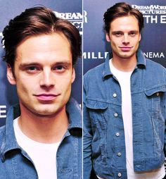 Oh my gawd | look at his face...that jawline.....ejheskaljsbejek | Sebastian Stan