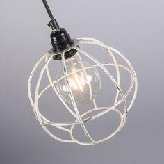 Lámpara colgante FRAME Luxe A plateada #interiorismo #decoracion #luz