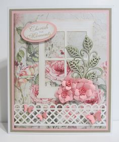 Scrapbook Layouts, Scrapbooking, Window Cards, Marianne Design, Heartfelt Creations, Paper Cards, Paper Background, Cool Cards, Atc