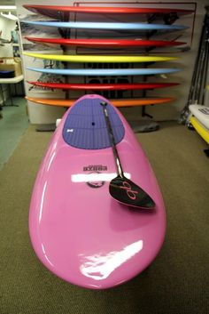 pink stand up paddle board bethany and ashley....we need this!!!!