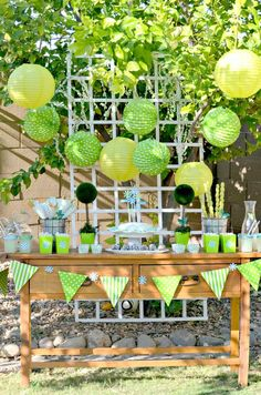 #Fiesta de #Primera #Comunion en color verde