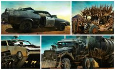 "EXCLUSIVE First Look: The Cars of ""Mad Max: Fury Road"" (1 of 12) +http://brml.co/1FuYZ97"