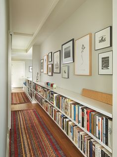 NOTE: Book shelves in the 2nd floor hall by Rohleder Borges Architecture