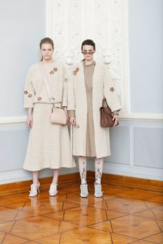 The complete Alena Akhmadullina Fall 2018 Ready-to-Wear fashion show now on Vogue Runway.