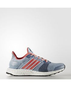 wholesale dealer f1638 2989a Adidas Ultra boost St Mujer Running Zapatillas Easy Azules Solid Gris BA7835