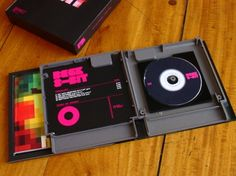 NES game case turned into a CD case. Nice idea to turn an old game case into a CD case simple.