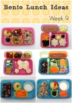 Bento Lunch Ideas: Week 9 - Smashed Peas and Carrots