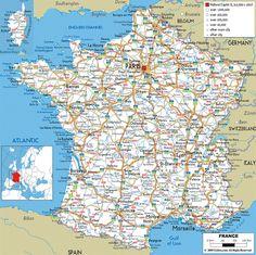 Carte de France Sud - Images | Arts et Voyages