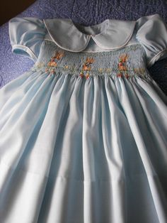 Smocked Dress  Peter Rabbit by reetmomma on Etsy, $65.00