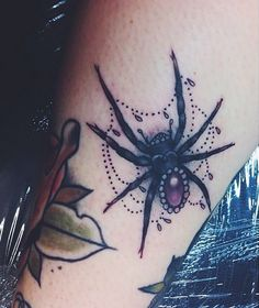 Spider Tattoo Desings