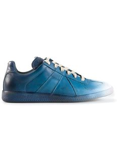 Shop Maison Margiela geometric paneled sneakers in Raionul 4 from the world's best independent boutiques at farfetch.com. Over 1000 designers from 300 boutiques in one website.
