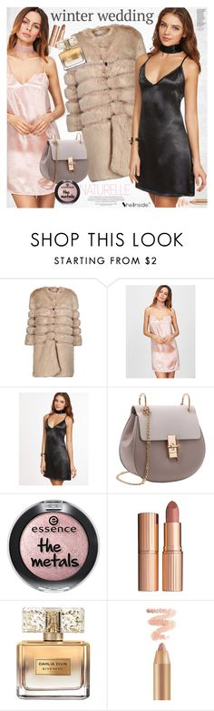 """True Romance: Winter Wedding"" by vanjazivadinovic ❤ liked on Polyvore featuring AINEA, Charlotte Tilbury, Givenchy, Sheinside, polyvoreeditorial and winterwedding"