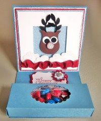 Best Yet, Rudolph Candy Box & Easel Card
