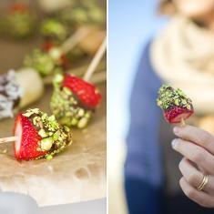 Frozen Fruitsticks With Chocolate