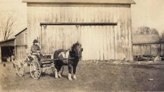 The Rodger's farm located on Solon Road, Solon Ohio    1920s