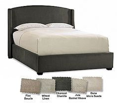 Sleep Number® Refined Sidewing Upholstered Headboard