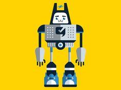 robot by Bobby McKenna