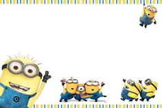 Moms Kiddie Party Link: Minions Party Invites