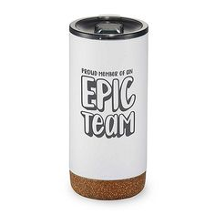 Valhalla Copper Vacuum Tumbler- Proud Member Of An Epic Team Staff Benefits, Volunteer Gifts, Employee Gifts, Appreciation Gifts, Corporate Gifts, Drinkware, Tumbler, Copper, Branding