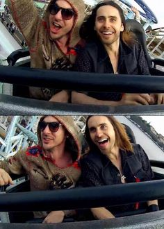 Jared and Shannon - Thirty Seconds To Mars Thirty Seconds, 30 Seconds, 30 Sec To Mars, Mars Family, Jered Leto, Life On Mars, Shannon Leto, Just Jared, Never Too Late
