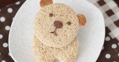 Cute Food For Kids?: Bear Nutella Sandwich