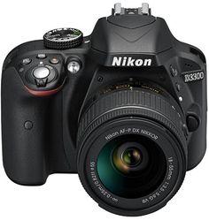 #Nikon #D3300 – 24.2 MP #SLR #Camera, #Black, AF-P 18 – 55mm f/3.5 to 5.6 G VR Lens Kit  35% Off  #bestbuy #onlinedealsuae #follow #onlineshopping #dubai #mydubai #follow #greatdeal #canon #canonme #kodak #sony #follow #amazingdeal