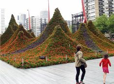 Flower Sculpture by Adriaan Geuze