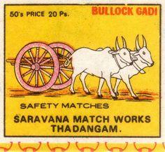 Buyenlarge 'Bullock Gadi' Graphic Art Size: H x W x D Book Labels, Matchbox Art, Nature Scenes, World Cultures, My Sunshine, Vintage Art, Vintage India, Graphic Art, Prints