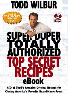 Super Duper Totally Authorized Top Secret Recipes Pdf