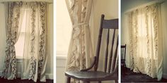 I love these! They are wonderful and shabby, and I have no idea where I'd put them, but I love them.