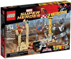 LEGO Marvel Super Heroes 76037 Spiderman Rhino and Sandman Super Villain Team-up Marvel C, Lego Marvel Super Heroes, Spiderman Spider, Hobby Toys, Iron Spider, Buy Lego, Epic Fail Pictures, Building Toys, Model Building