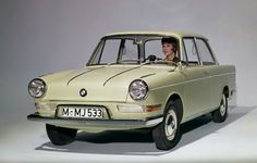 1960 BMW 700 LS Luxus Coupe- The car that saved the Company.